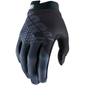 100% iTrack Gloves Kinder black/charcoal